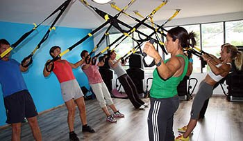 Cours de TRX à So Good Fitness