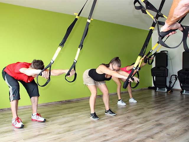 TRX training dans un club So Good