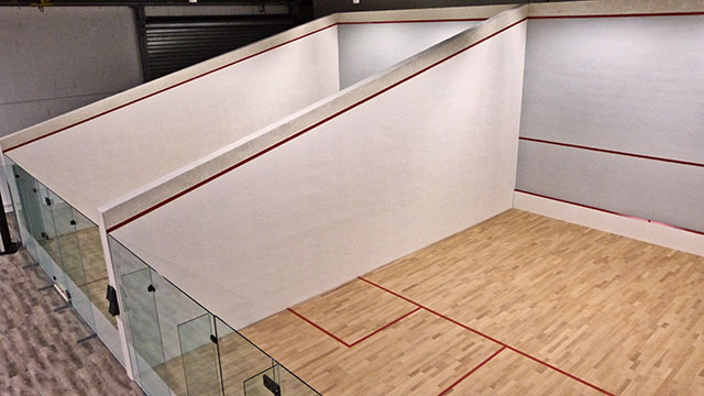 Terrains de squash de So Good Campus
