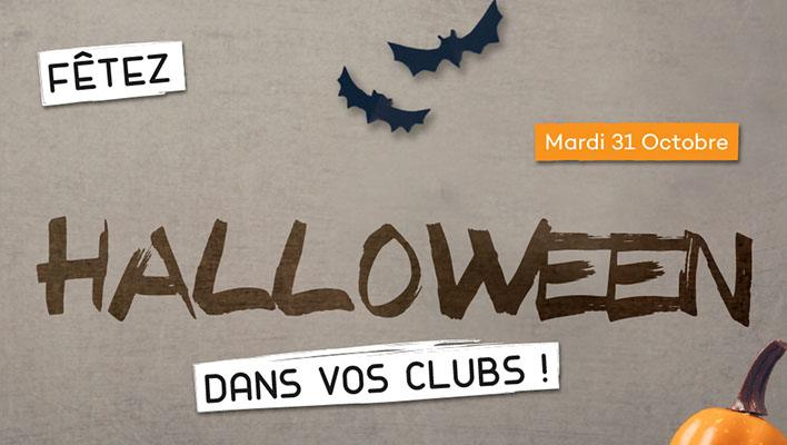 Halloween dans vos clubs So Good