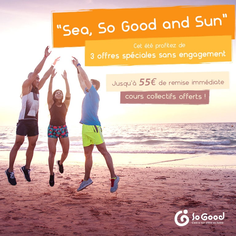 "Promotion été 2019 ""Sea, So Good and Sun"""